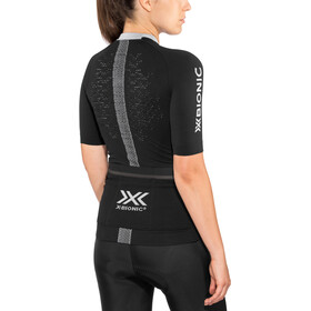 X-Bionic The Trick G2 Bike Zip Jersey SS Women black melange
